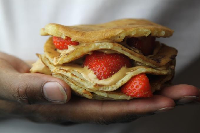 Pancakes . 2